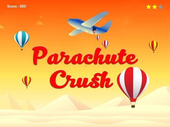 Parachute Crush - finger tap crush top free games iPad Screenshot 3