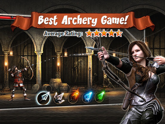 Archer's Quest iPad Screenshot 1