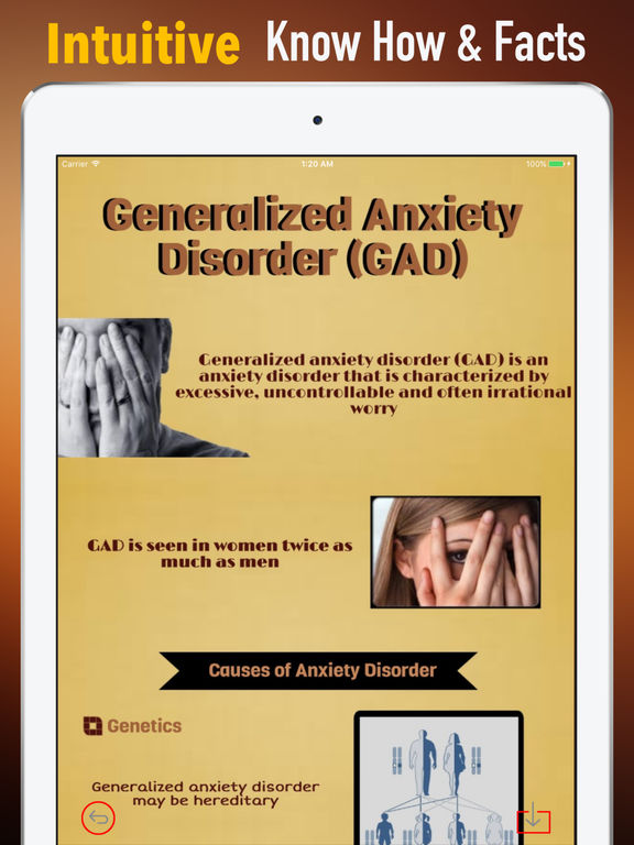 comparing the generalized anxiety disorder to the norm According to the anxiety and depression association of america, a person with generalized anxiety disorder typically worries about the same things the average person worries about, but in such an.