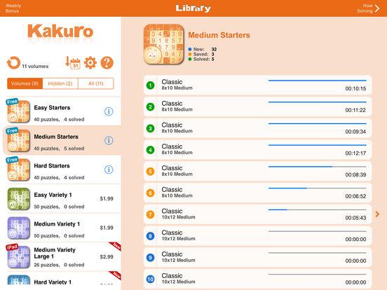 Conceptis Kakuro screenshot 9