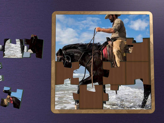 Super Jigsaws Horses screenshot 8