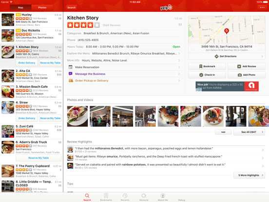 Yelp screenshot 8