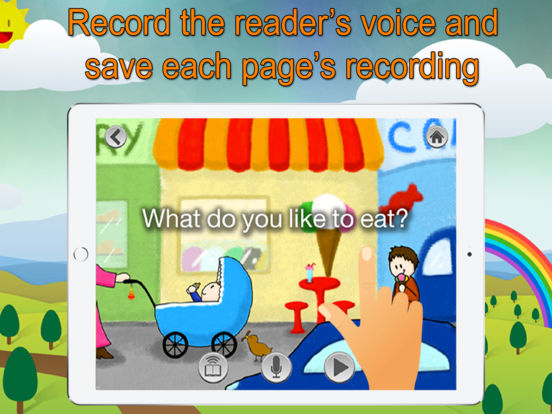 Super Readers - A Sight Words Based Story Book App Screenshots