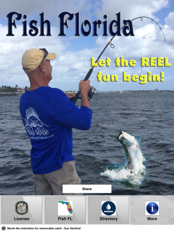 Fish florida on the app store for How much is a saltwater fishing license in florida