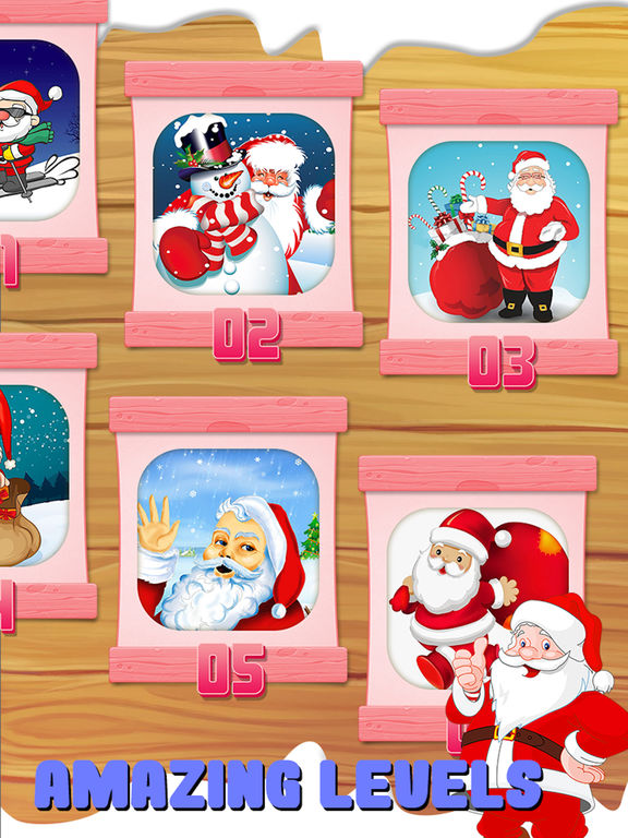 Santa Slide Puzzle For Kids screenshot 10