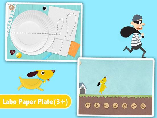 Labo Paper Plate Screenshots