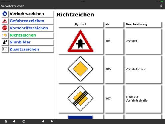 Verkehrszeichen DE iPad Screenshot 3