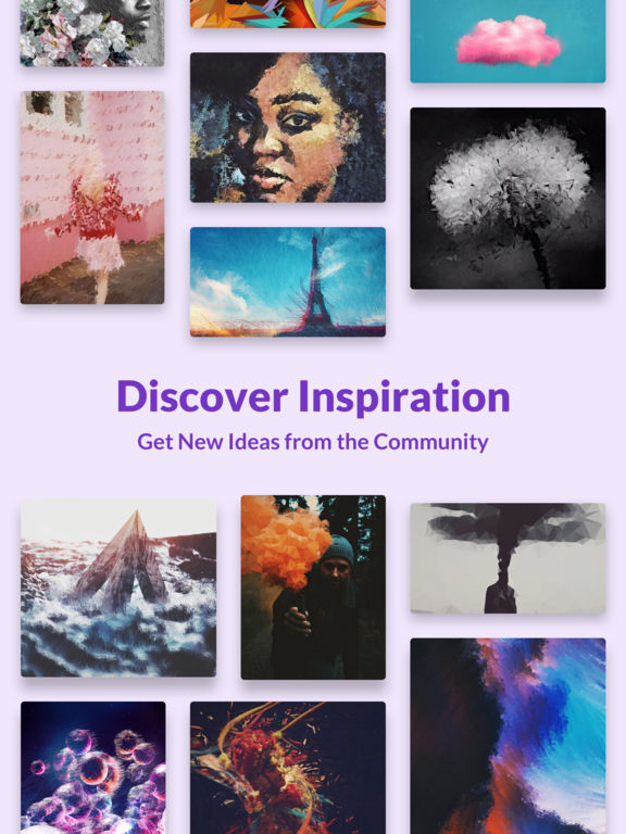 Trigraphy: Photo Editor for Glitch & Abstract Art Screenshots
