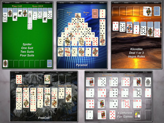 Screenshot #2 for Solitaire City (Ad-Free)