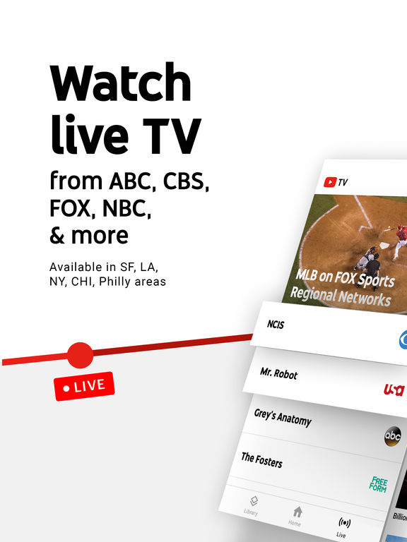 YouTube TV - Watch & DVR Live Sports, Shows & News Screenshots