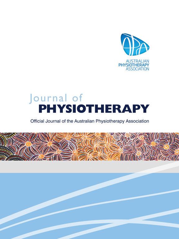 Screenshot #1 for Journal of Physiotherapy