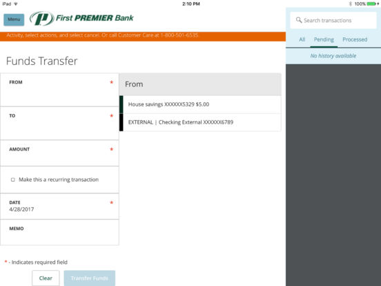 First PREMIER Bank Mobile Banking on the App Store