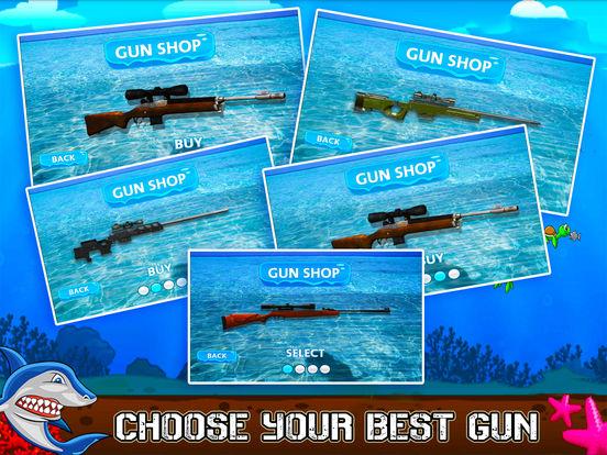 Flying Hungry Shark Endless Shooting Sniper Games-ipad-4