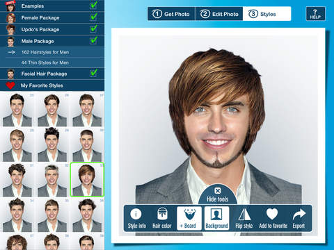 Mens Hairstyles Software | Hair