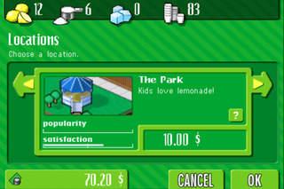Lemonade Tycoon screenshot #3