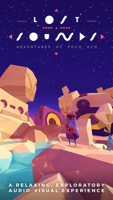 Screenshot Adventures of Poco Eco – Lost Sounds: Entrez dans l'intimité de la musique et de l'art d'animation dans le cadre d'un jeu indie