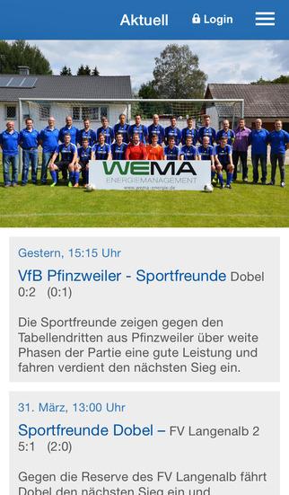 Sportfreunde Dobel e.V. screenshot 1