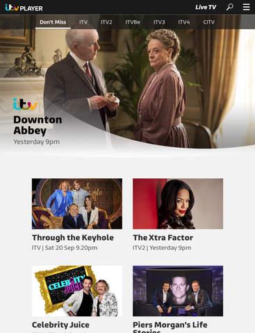 ITV Hub: TV Player & Catchup screenshot #1