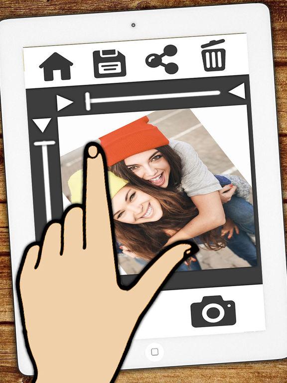 Belle Télécharger Insta cadre blanc pour Instagram photos avec une GU-71