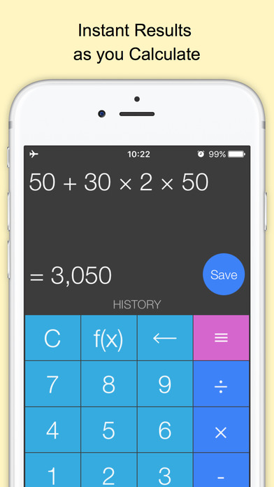Screenshot Xmart Calculator Pro