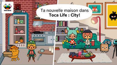 Screenshot Toca Life: City