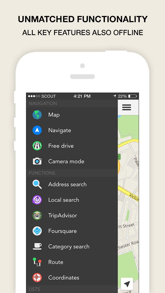 Scout Navigation & Maps (UK) screenshot #3