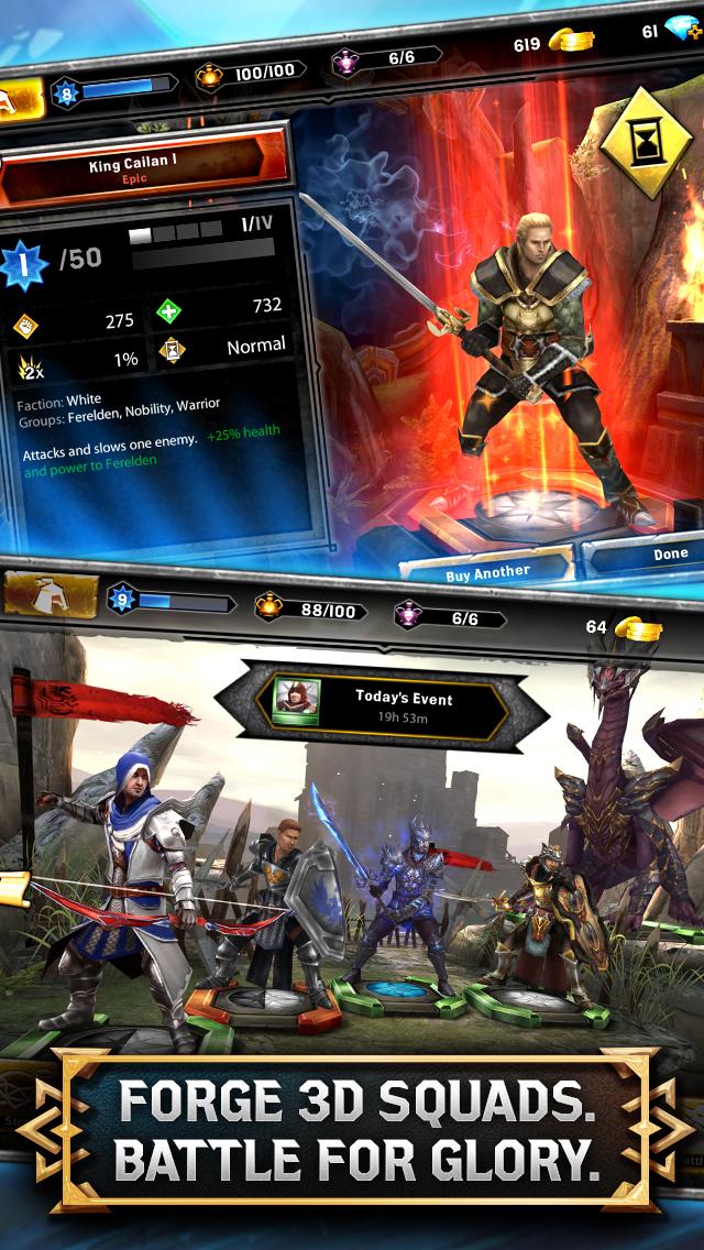 Heroes of Dragon Age screenshot #2