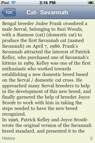 Savannah Cats screenshot #3