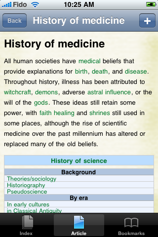 History of Medicine Study Guide screenshot #1