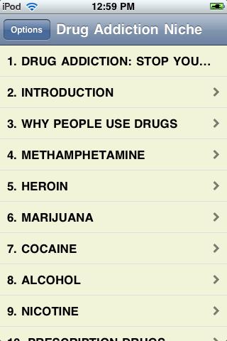 A Look at Drug Addiction screenshot #1