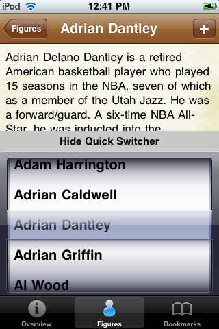 All Time Dallas Basketball Roster screenshot #3