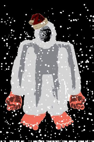 Christmas Yeti Snow Globe screenshot #1