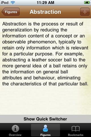 Psychology Terms Pocket Book screenshot #3