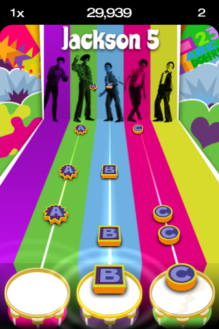 Tap Tap Revenge 2.6 screenshot 1