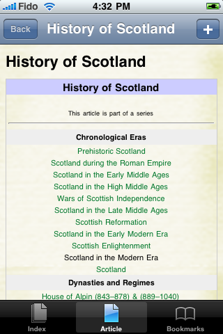 History of Scotland Study Guide screenshot #1