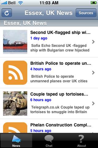 Essex, UK News screenshot #1