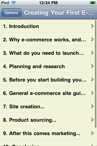 Creating Your First E-Commerce Site screenshot #2