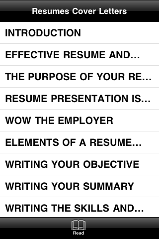 The Professional Approach to Resumes and Cover Letters screenshot #4