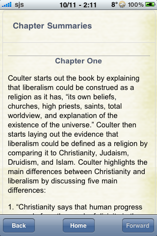 Book Notes - Godless: The Church of Liberalism screenshot #2