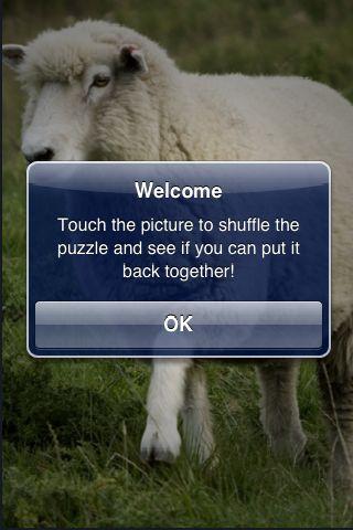 SlidePuzzle - Sheep screenshot #2