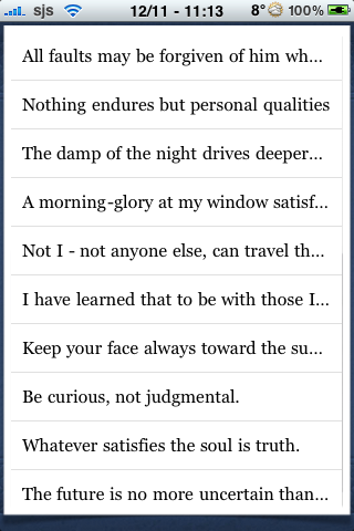 Walt Whitman Quotes screenshot #3