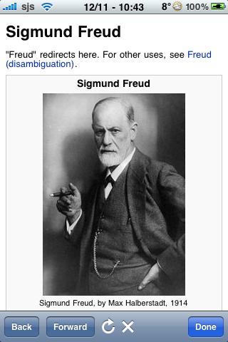 Sigmund Freud Quotes screenshot #1