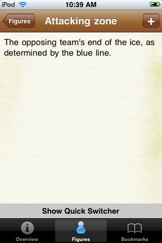 Hockey Pocket Book screenshot #3