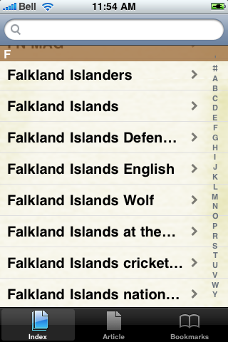 Falklands War Study Guide screenshot #3