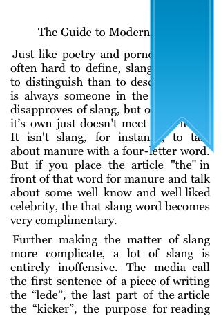 The Guide to Modern Slang screenshot #5