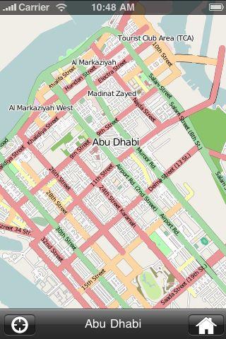 iMapsPro - Abu Dhabi screenshot #1