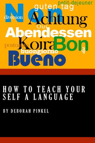 How To Teach Your Self A Language screenshot #1