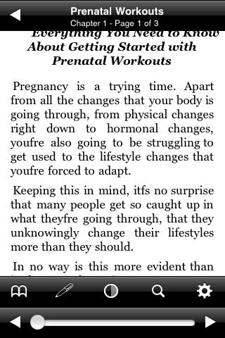 All About Prenatal Workouts screenshot #3