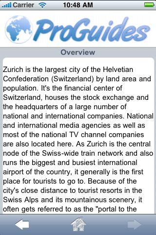 ProGuides - Zurich screenshot #3