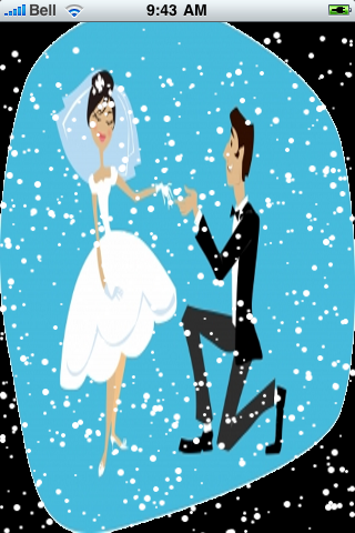 Popping the Question Snow Globe screenshot #2